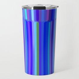New Year Stripes Travel Mug