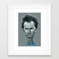 clint barton Framed Art Prints featuring Clint by Nicolas Villeminot