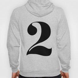 number 2 Hoody