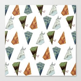 Elementals Canvas Print