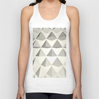 pyramid Tank Tops featuring Pyramid by Lauren Miller
