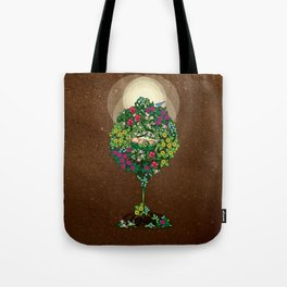 Earth Baby Tote Bag