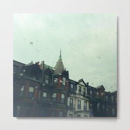 Rainy Boston Afternoon Metal Print