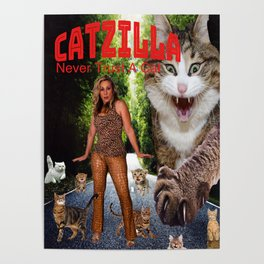 Kity Chick & Buny Girl Poster