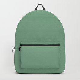 Moss Green in an English Country Garden Backpack