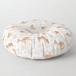 Wildflower Fawn Floor Pillow