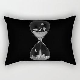 THE EVOLUTION OF THE WORLD b/w Rectangular Pillow