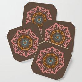Aztec Mandala Coaster