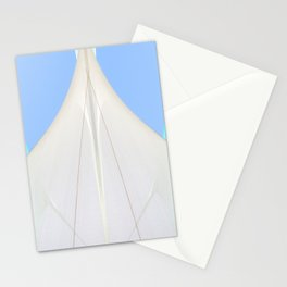 Abstract Sailcloth c2 Stationery Cards