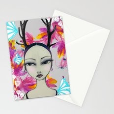 Fawn Woodland Gal Stationery Cards