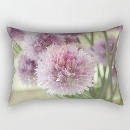 Chive flowers Rectangular Pillow