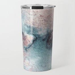 Pink and Blue Oasis Travel Mug