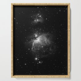 Galaxy (Black and White) Serving Tray