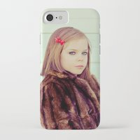 tenenbaum iPhone & iPod Cases featuring Tenenbaum by Malice of Alice