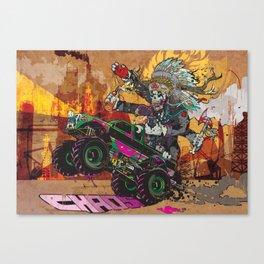 Wolves & Scandals Canvas Print