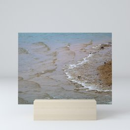 Beach and Waves Mini Art Print