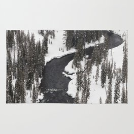 Yellowstone National Park - Lewis River Rug