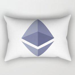 Ethereum Logo Rectangular Pillow
