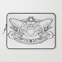 Sphynx Tattoo by SilvieCrystal Laptop Sleeve