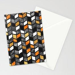 Fall Herringbone Stationery Cards