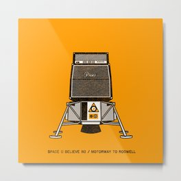 7 inch series: Pixies - Space (I believe in) / Motorway to Roswell Metal Print