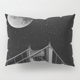 Full Moon Over Golden Gate Bridge San Francisco, California Pillow Sham