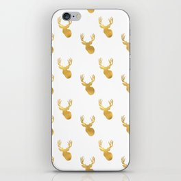 Gold Deer iPhone Skin