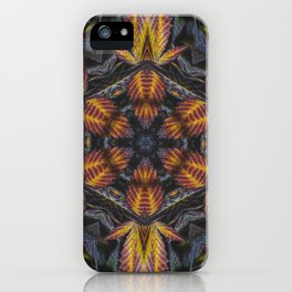 Hexagon Leaf iPhone Case