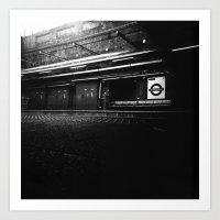 Whitechapel Station Art Print
