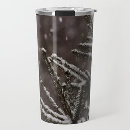 Snow Upon the Branches (Color) Travel Mug