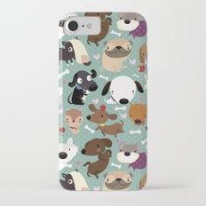 Dog pattern iPhone 7 Slim Case