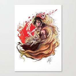 Hime Canvas Print