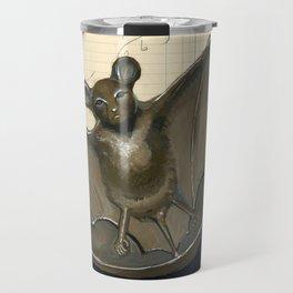 Metal Bat Tray in Gouache Travel Mug