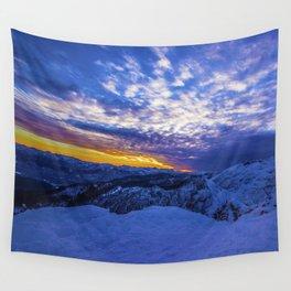 Warm Streak 2 Wall Tapestry