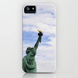 Proud Lady Liberty iPhone Case