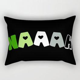 Naaah (Aromantic) Rectangular Pillow