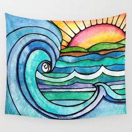 Beachy #society6 #spring #summer Wall Tapestry