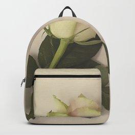 Dusky pink rose Backpack