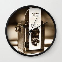 Argus Camera Wall Clock