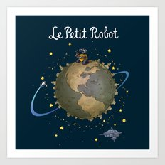 Le Petit Robot Art Print