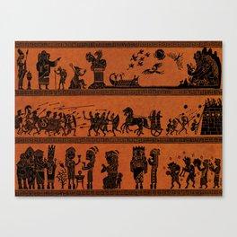 Ancient Tales Canvas Print