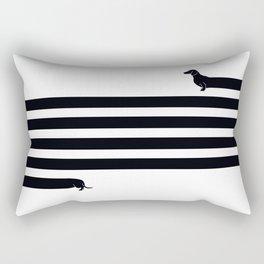 (Very) Long Dog Rectangular Pillow