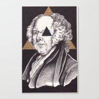 architect Canvas Prints featuring Architect by Erik DeAngelis