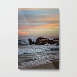 Sri Lankan Sunset Metal Print