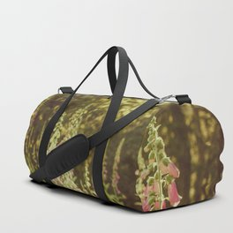 A New Day II Wildflowers at Dawn - Nature Photography Duffle Bag