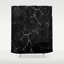 Marble Storm Shower Curtain