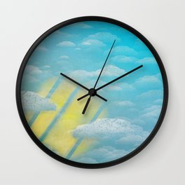 Ode to Summer Wall Clock