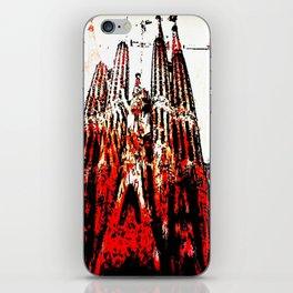 Gaudi speaks volumes iPhone Skin