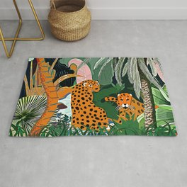 In the mighty jungle Rug