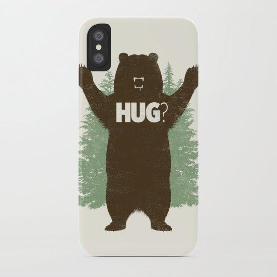 Bear Hug? iPhone Case